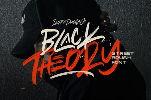 Black Theory – Urban Brush Font