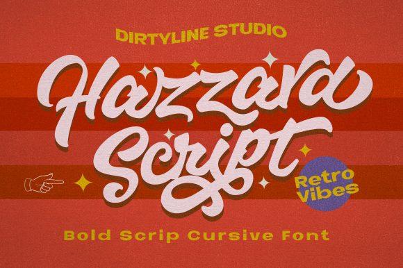 Hazzard Script – Retro Vibe