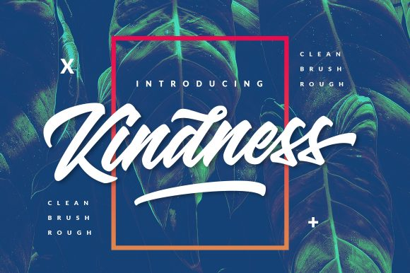 Kindness – 3 Version Typeface
