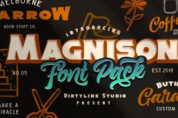 Magnison – Font Pack