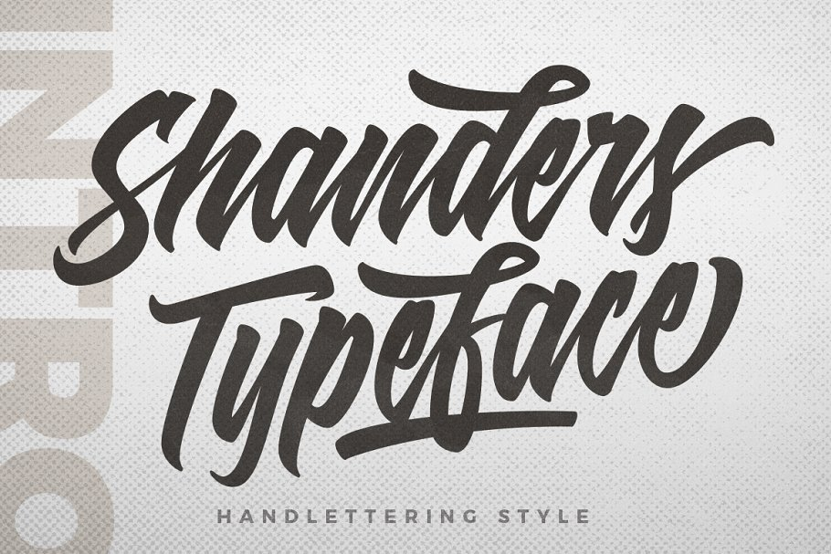Shanders Free Font