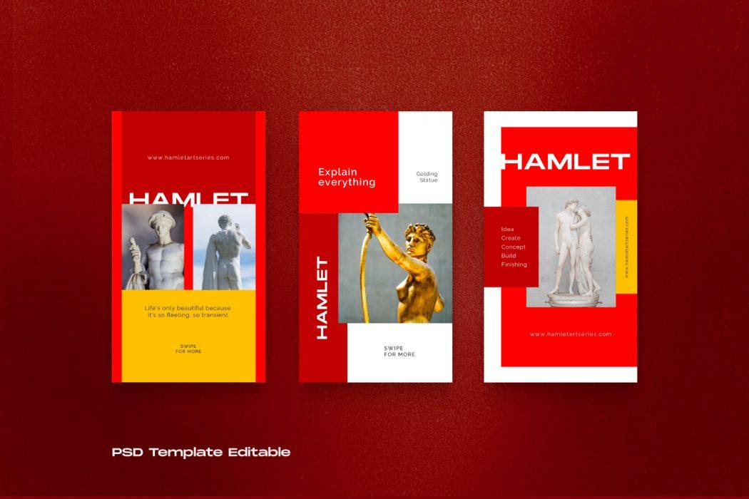 HAMLET // Social Media Kit Post & Stories