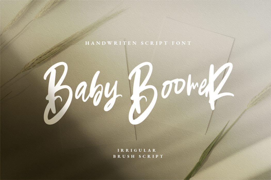 Baby Boomer Free Font