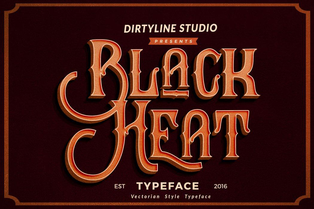 Black Heat – Free Font