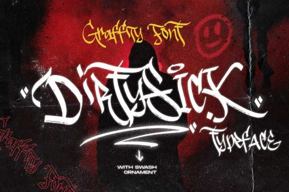 Dirtysick | Graffiti Font